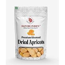 Nature Purify Dried Apricot | Khumani | Jardalu | Badam BOR |Soft (1 KG)