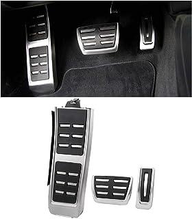 XLTWKK Pedaliera per poggiapiedi Freno per Auto Pedali Auto per Audi A4L A6L A7 A8 S4 RS4 A5 S5 RS5 8T Q5 SQ5 8R