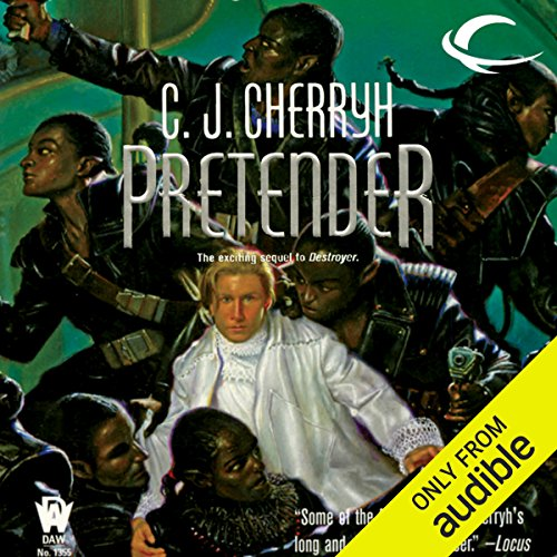 Pretender audiobook cover art
