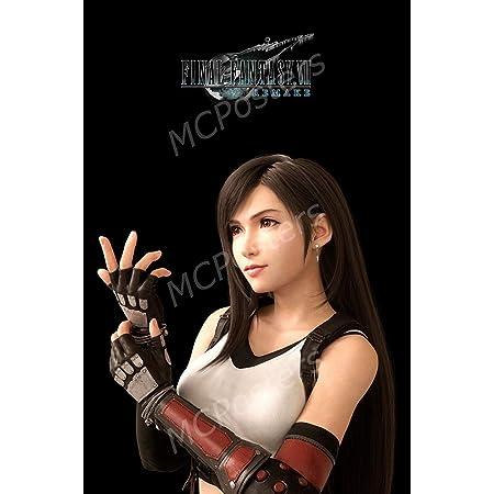 Final Fantasy vii Tifa Art Silk Poster 24x36inch
