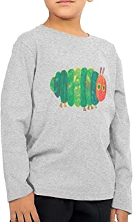 MusicQDog Children's Long Sleeve Cute Shirt Printed with Very Hungry Caterpillar