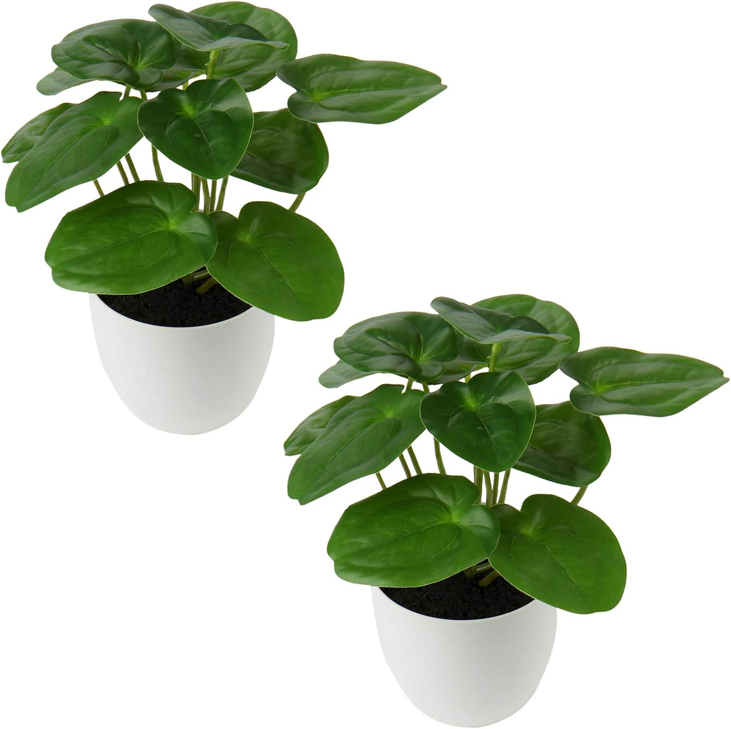 20 Pcs Artificial Potted Plants Mini Fake Plants in Plastic Pot Small  Greenery Faux Plants Indoor for Home Office Desk Room Table Bathroom  Bedroom ...