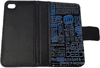 Bible Scripture Verses - Apple iPhone 5/5s Billfold Wallet Case