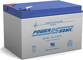 Power-Sonic 12V 12AH F2 Replacement Battery for Feber Ferrari California