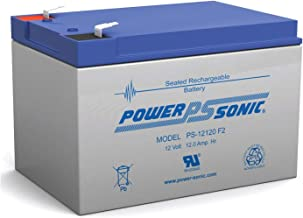 Power-Sonic PS-Series Sealed Lead-Acid Battery 12V 12.0 AH F2 Terminals (PS-12120)