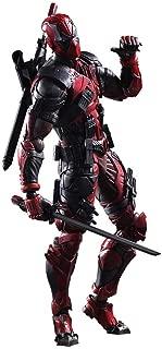 WDINN sports Deadpool Figure Wolverine X Men X-Men Play Arts Kai Deadpool Wade Winston Wilson Play Art Kai PVC Action Figure 26cm Doll Toy