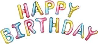 "HOUZE LS-9494 16"" -HAPPY BIRTHDAY- Inflatable Balloon (Lollipop Colour)"