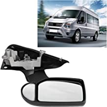 exactafit 8622R Passenger Right Side Mirror Glass Replacement fits 2015-2018 Ford Transit by Rugged TUFF