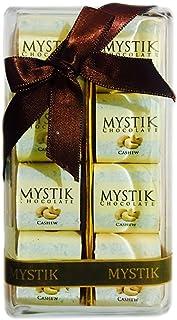 Mystik Premium - Buy Homemade Cashew Chocolate Milk Online - Gift Wrap - Chocolate Box - 8 Pc