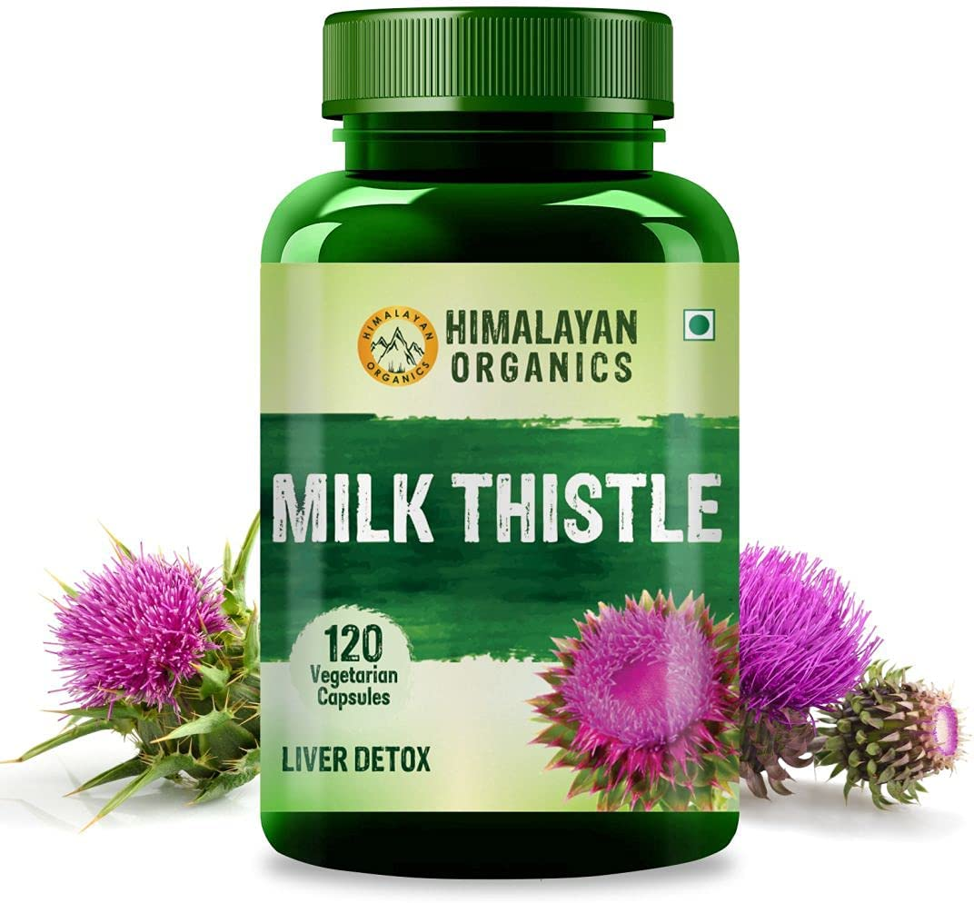 Himalayan Organics Milk Thistle Extract Bargain 800Mg List price Serve Silymarin 12