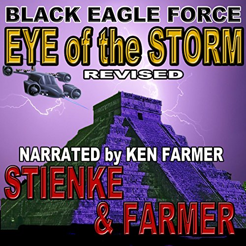 Black Eagle Force: Eye of the Storm audiobook cover art