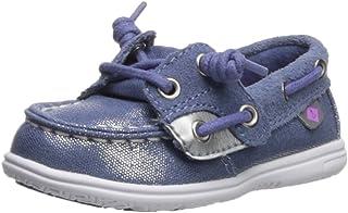 SPERRY Kids' Shoresider Jr/Blue Boat Shoe