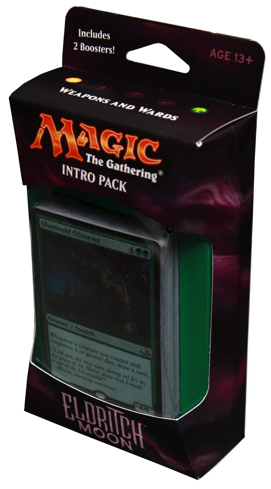 Magic the Gathering: MTG Eldritch Moon: Intro Pack / Theme Deck: Weapons and Wards (includes 2 Booster Packs & Alternate…
