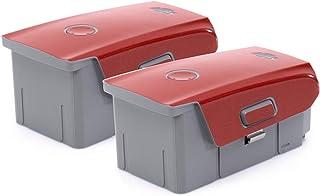 Wrapgrade Skin kompatibel med Mavic Air 2 | 2 batterier (SUPER RED)