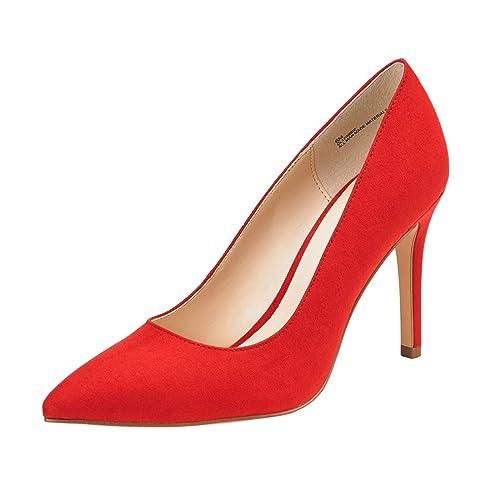 eb3406b06111 JENN ARDOR Stiletto High Heel Shoes for Women  Pointed