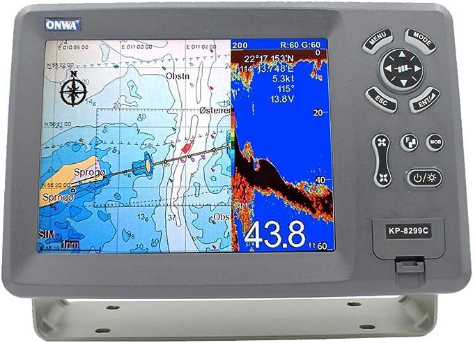 "5.6/"" GPS Chart Plotter w// built-in Fish Finder ONWA KP-6299C"