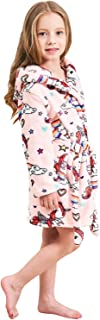 Soft Unicorn Hooded Bathrobe Sleepwear - Unicorn Gifts...