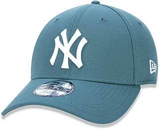 BONE NEW ERA 39THIRTY NEW YORK YANKEES MLB ABA CURVA FECHADO VERDE