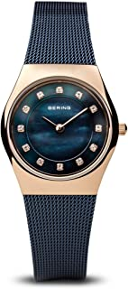 BERING Time 11927-367 Womens Classic Collection Watch with Mesh Band and Scratch Resistant Sapphire Crystal. Designed in Denmark.