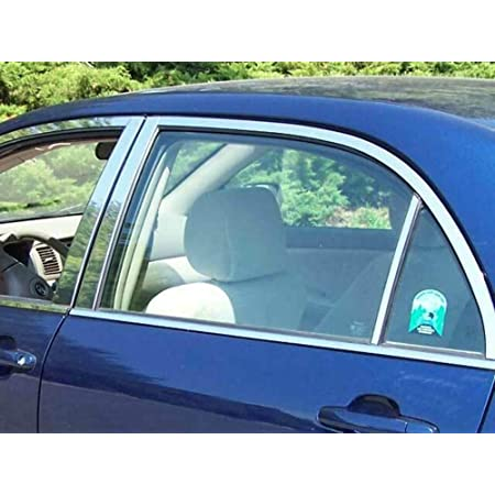 QAA fits 2014-2019 Toyota Corolla 8 Piece Stainless Pillar Post Trim PP14114