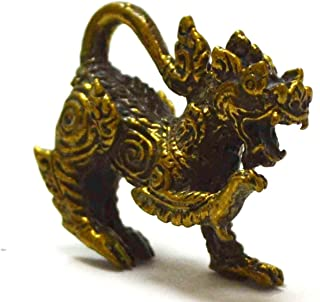 Nice Gift Jewelry From Thailand Wealth Singha Powerful Hunting Money Rich Good Business Charm Pendants