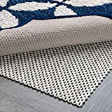 Non Slip Area Rug Pad Size 4 X 6 Extra Strong Grip Thick Padding and