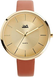 JAG Women's J2057 Year-Round Analog Quartz Brown Watch