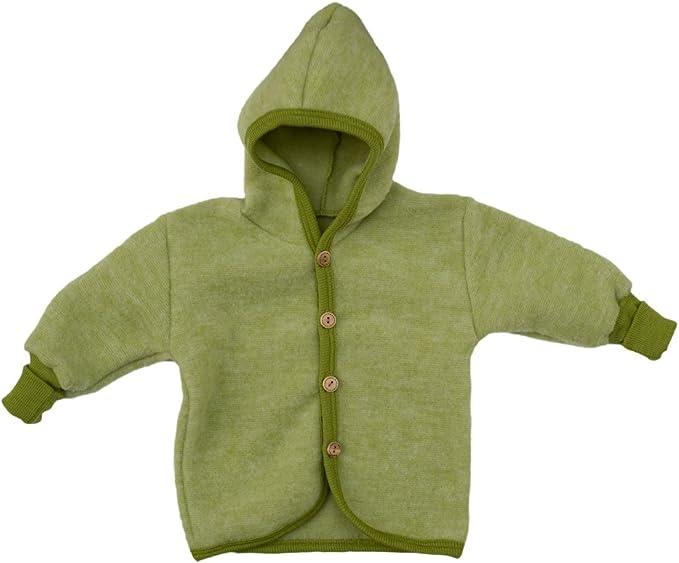 Cosilana Baby Chaqueta con capucha de suave forro polar 60/% lana virgen kbT 40/% algod/ón KBA