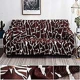 WXQY Funda de sofá de Estilo Bohemio Funda de sofá de Sala de Estar elástica de algodón Puro Funda de sofá Individual sillón Chaise Longue A1 2 plazas