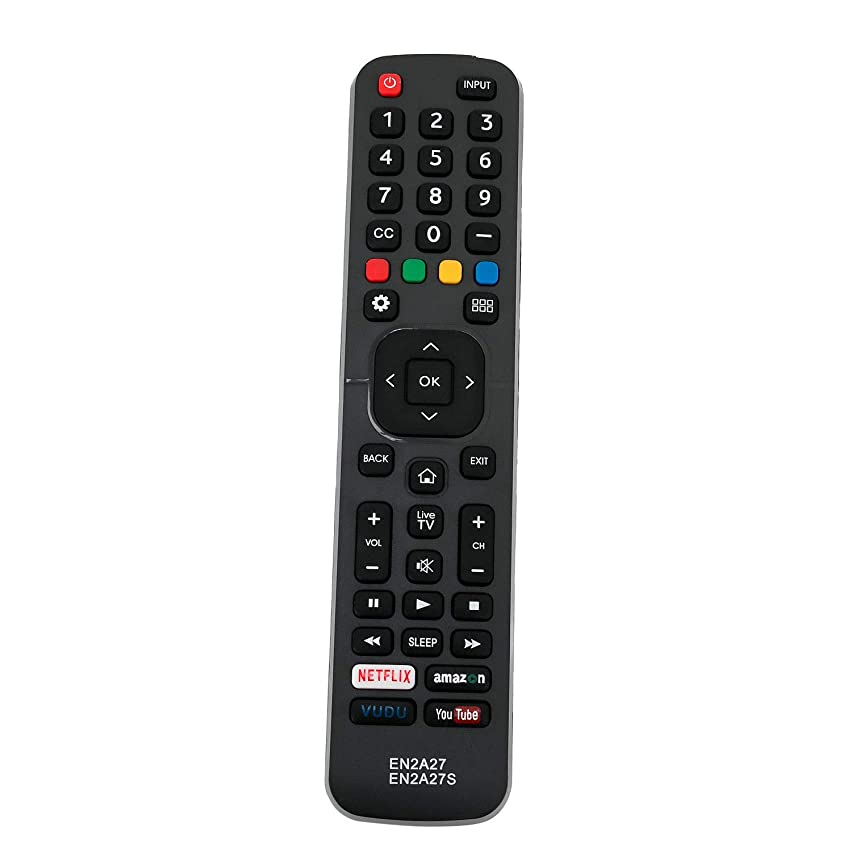 Replacement TV Remote Control Controller for Sharp LC-43N7000U 43-Inch, LC-50N7000U 50-Inch, LC-55N7000U 55-Inch 4K Ultra HD Smart LED TV