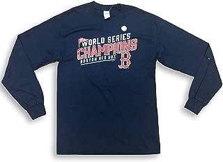 Boston Red Sox 2018 World Series Champions Long Sleeve Adult Men's T-Shirt