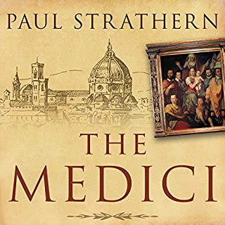 The Medici audiobook cover art