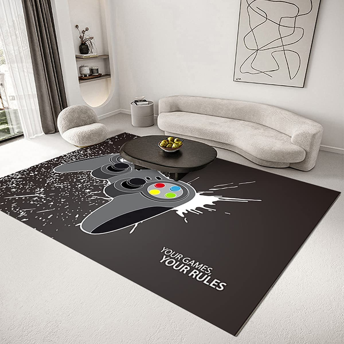 Boys Teen Bedroom Rug Video Game Our shop most popular Ma Ranking TOP7 Gaming Room Rugs Living Area