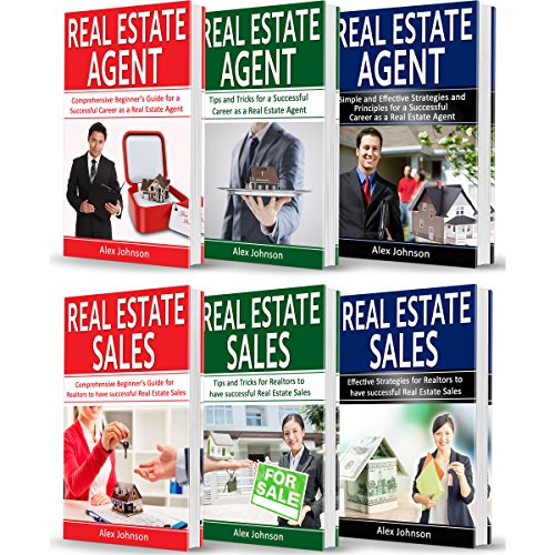 Real Estate Agent: 6 Books in 1 audiobook cover art