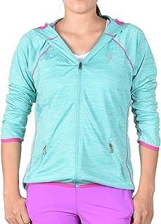 Xin Hui Bao Women's Lightweight, Full Zip Running Track Jacket Hoodie
