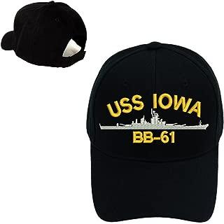 USS IOWA BB-61 SHIP Digital Camo Camouflage Military Baseball Cap Hat
