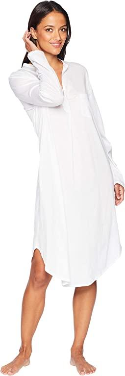 Cotton Deluxe Long Sleeve Gown