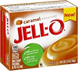 Jell-O Instant Caramel Pudding & Pie Filling (3.4 oz Boxes, Pack of 24)