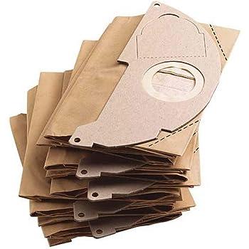 12 sacchetti polvere per Kärcher WD 5.200 M Sacchetto per aspirapolvere filtro a sacco Filtro Sacchi