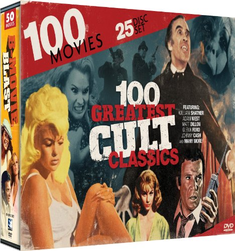 100 Greatest Cult Classics Collection: Single Room Furnished - Galaxina - Cave Girl - Weekend Pass - Jocks - Hunk - The Beach Girls - Tomboy + 92 more!