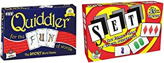 Quiddler Word Game & The Family Game of Visual Perception