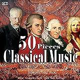 3CD 50 Pieces Classical Music, Musica Classica, Beethoven, Vivaldi, Mozart, Nocturnes, Pia...