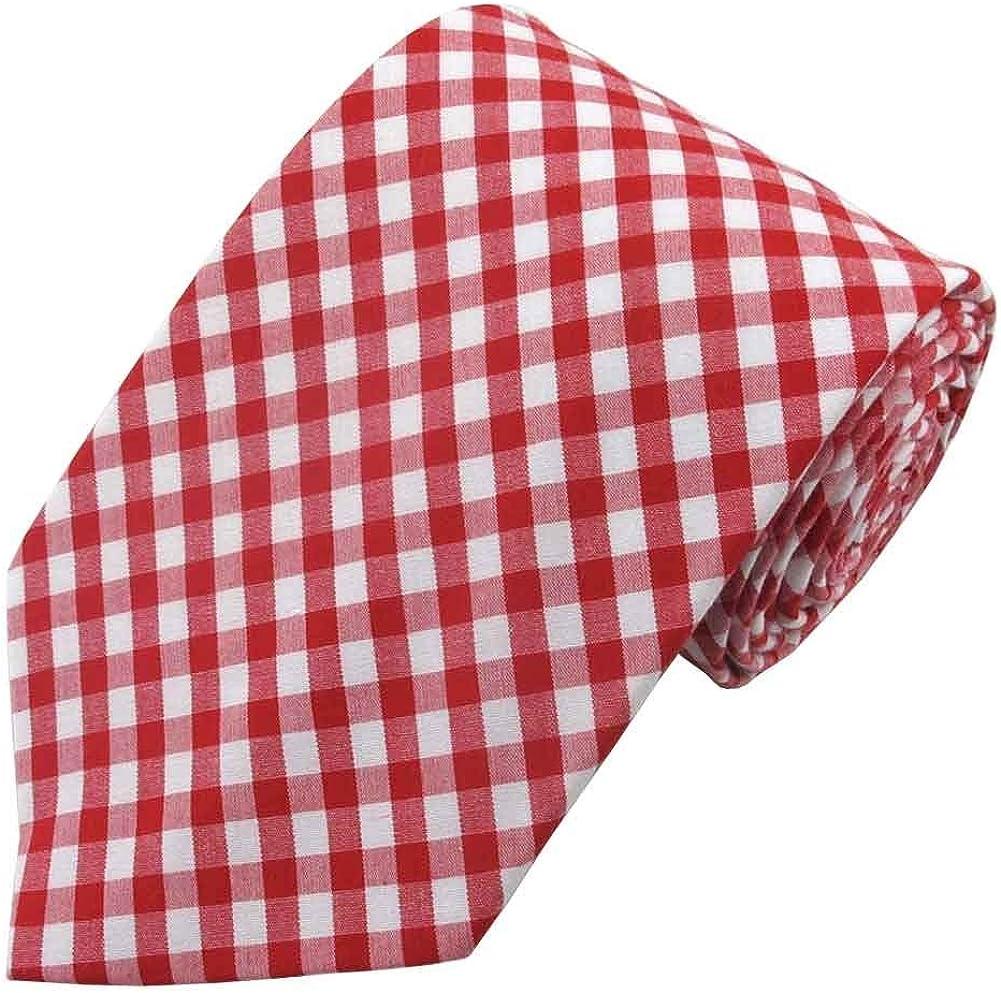 Max 59% OFF Jacob Alexander Men's Gingham Cheap SALE Start Tie Pattern Neck Checkered