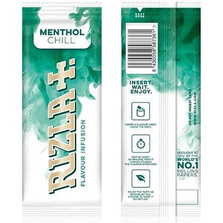 Rizla Menthol Chill Lot de 25 cartes à infusions
