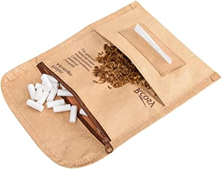 Chillscreamni Tobacco Pipe Bags & Pouches - Quality Rolling Tobacco Pouch Case from Unique Tyvek Paper with Incredibly Anti-Tearing&Waterproof Feature, Unisex Roll Up Tobacco Case Pouch for Daily Use