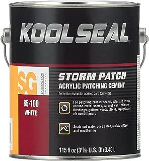 KST COATING KS0085100-16 White Roof Patch, 0.9 Gallon