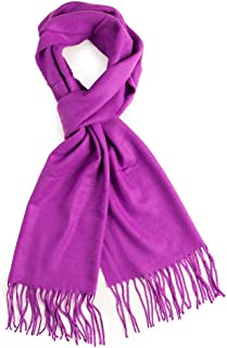 Rich Solid Colors Cashmere Feel Winter Scarf