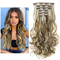 "Material:100% Japan Heat Resistant Synthetic Fiber (can be ironed between 300℉-350℉) Color:As Picture Shown (May Vary By Different Monitor) Length: Approx 20"" ; Weight: About 0.35lb Unlike yourself hair,the hair extension may get tangled without nutr..."
