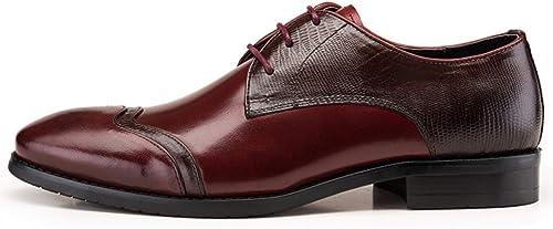 zapatos De hombres Inglaterra zapatos Antideslizantes Resistentes Al Desgaste Cordones Casual Business Comfort