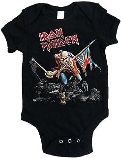 Rocks-off Offizieller Iron Maiden – Trooper – Babystrampler